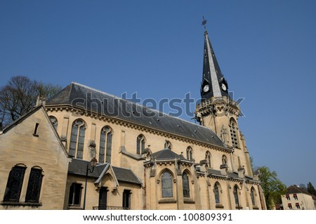 France, the church of Vigny in Val d Oise