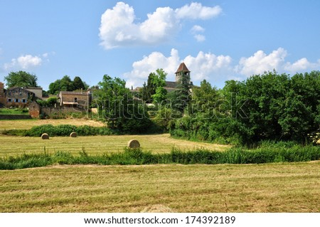 France, the picturesque village of Lacapelle Biron
