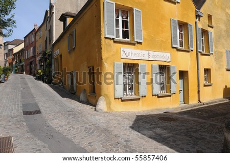 France, the town of  Marly le Roi