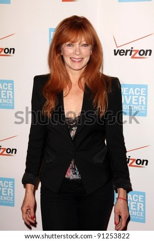 Frances Fisher at the Peace Over Violence 40th Annual Humanitarian Awards, Beverly Hills Hotel, Beverly Hills, CA 10-28-11