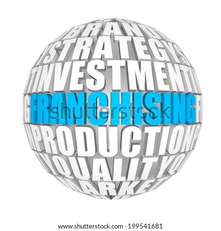 Franchising. - stock photo
