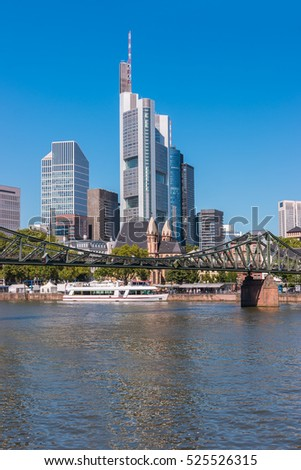 Frankfurt am Main City view, germany