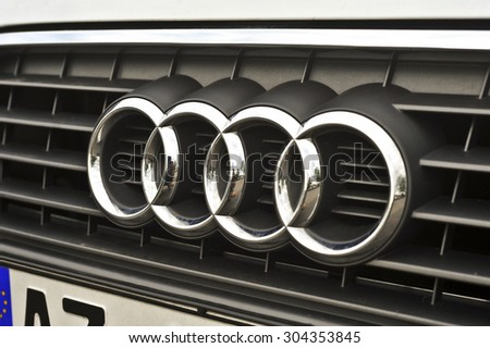 Audi Logo Stock Images RoyaltyFree Images Vectors Shutterstock - Audi car symbol