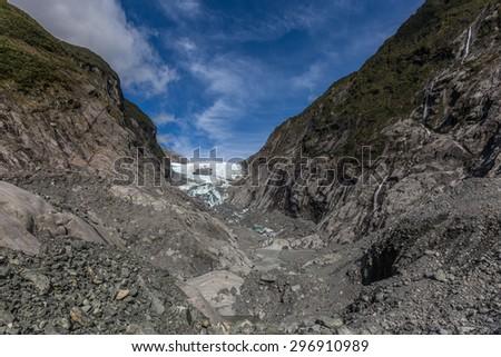Franz Josef Glacier, New Zealand - stock photo