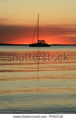 Fraser Island, UNESCO, Australia - stock photo