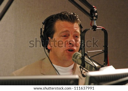 Fred Solomon in the Studio with the Soloman Free Money Hour on 97.1 FREE FM. FREE FM, Los Angeles, CA. 06-30-07