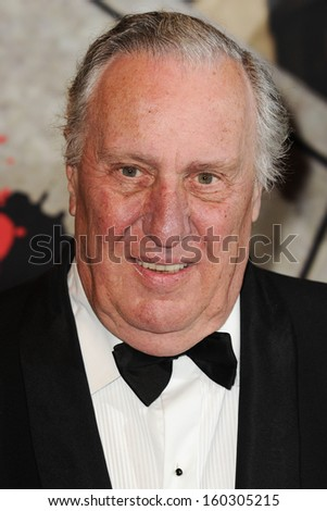 Frederick Forsyth arriving for the Specsavers Crime Thriller Awards 2013 at the Grosvenor House Hotel, London. 24/10/2013