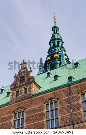 Frederiksborg Castle, Hillerod, Denmark. - stock photo