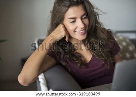 Free afternoon spent on relaxation - stock photo