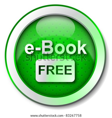 Free E-book icon - stock photo