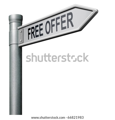 free offer online bargain gratis download icon or button - stock photo
