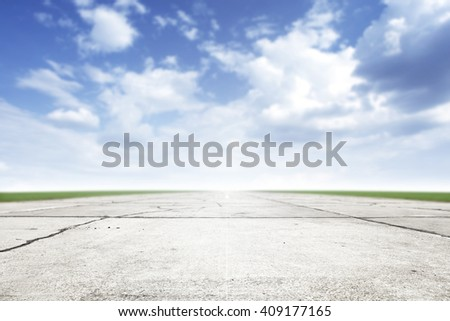 Free place for your car, plane, bike or people and top of runway space