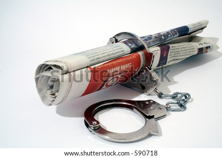 Free Press - stock photo