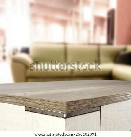 free space on wooden top