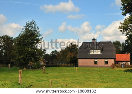 Free standing Rural house in nature