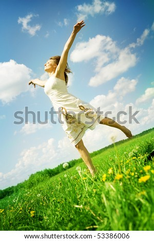 Freedom concept - stock photo