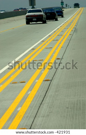 Freeway - stock photo