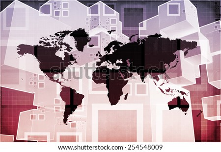 Freight Forwarding and Customs Brokerage as a Concept - stock photo