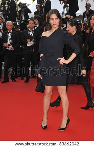 "French actress Geraldine Pailhas at the premiere of ""Poetry"" at the 63rd Festival de Cannes. May 19, 2010  Cannes, France Picture: Paul Smith / Featureflash"