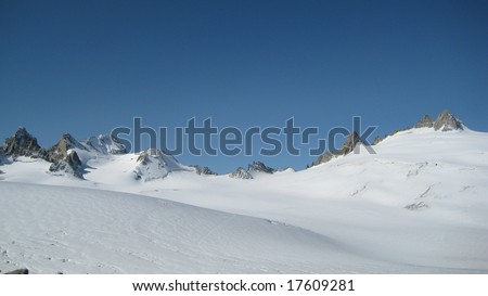 French Alps - stock photo