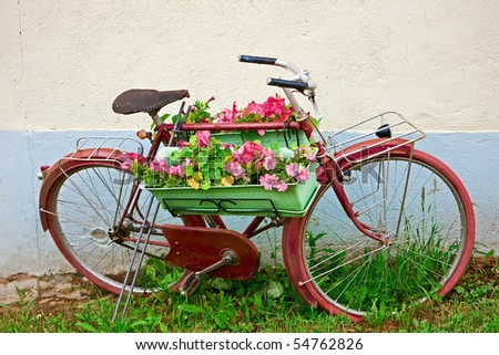 French Bicycle - stock photo