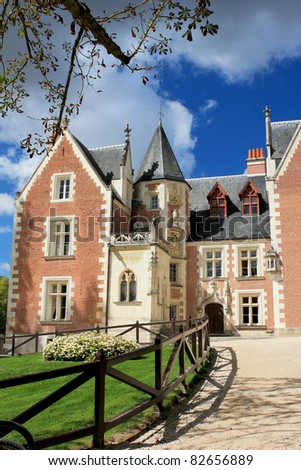 French Chateau - stock photo