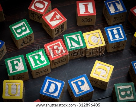 French class concept - stock photo