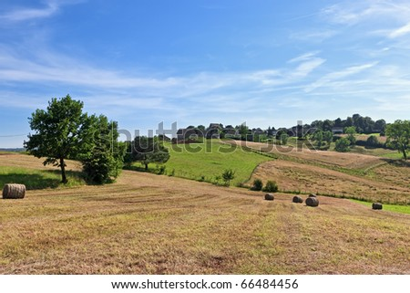 French country - stock photo