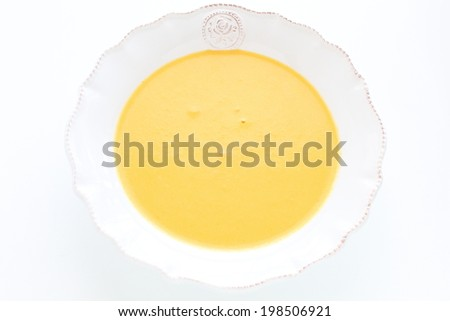 french cuisine, carrot soup