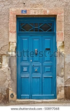 French door - stock photo