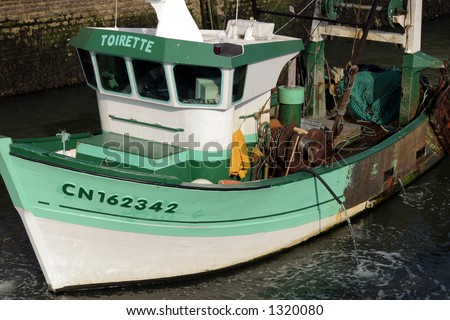 French Fishing boat Normandy