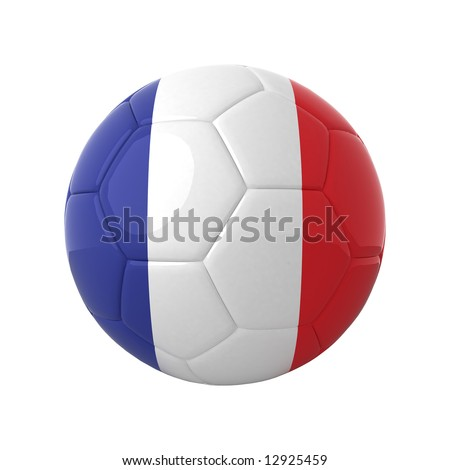 French football for europe's championship. - stock photo