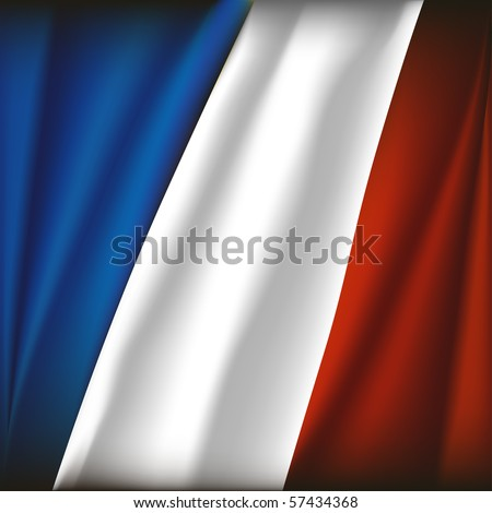 french/france flag illustration