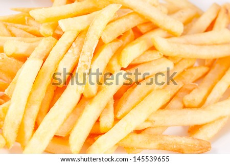 French Fries - stock photo