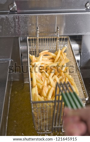 French fries grill
