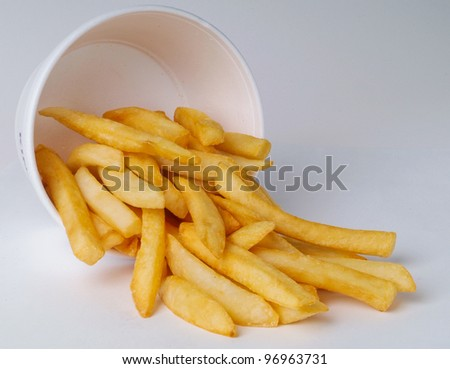 French Fries in a container