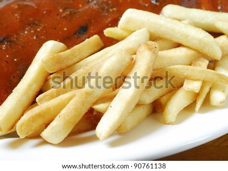 french fries with rip