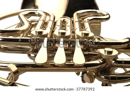 French horn detail
