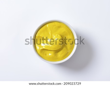 French mustard Dijon - stock photo