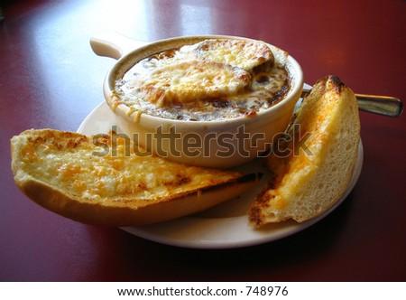French onion soup - stock photo