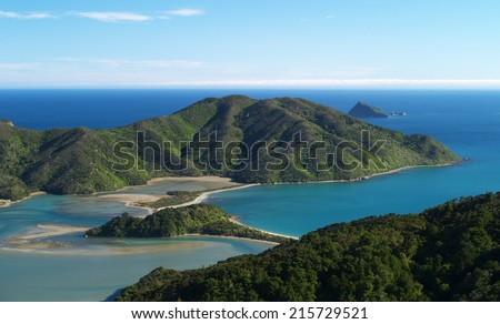 French Pass, Marlborough Sounds, New Zealand - stock photo
