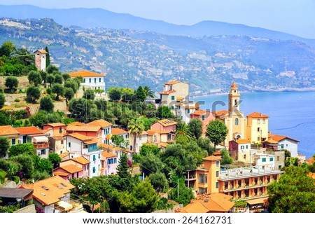 French Riviera, France - stock photo