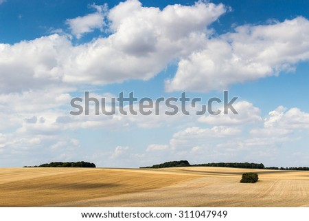 French Rural Area  - stock photo
