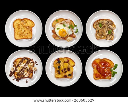 French Toast. Selective focus. - stock photo