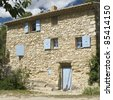 French village, house in Provence. - stock photo