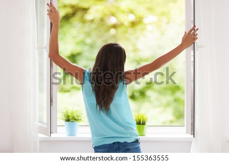 Fresh air - stock photo