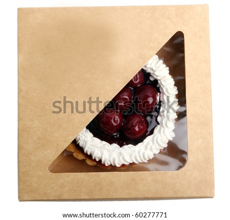 fresh and tasty sweet cherry cake in the box  sc 1 st  Shutterstock & Cake Box Stock Images Royalty-Free Images u0026 Vectors | Shutterstock Aboutintivar.Com