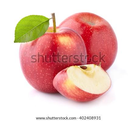 Fresh apples - stock photo