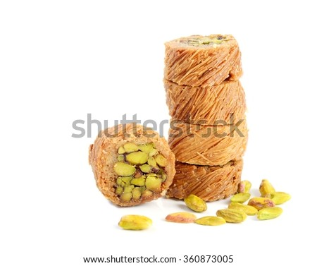 Fresh arabic sweets