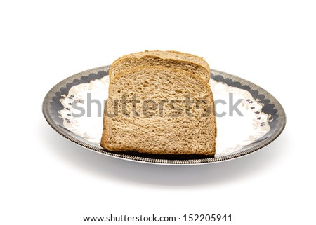 Fresh baked Brown Wholewheat Toast Bread